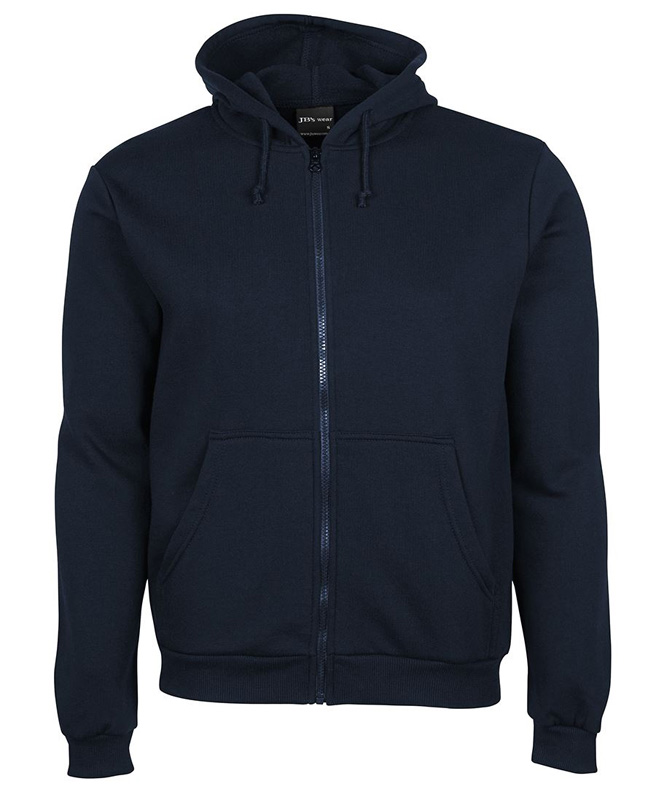 PolyCotton Full Zip Hoodie