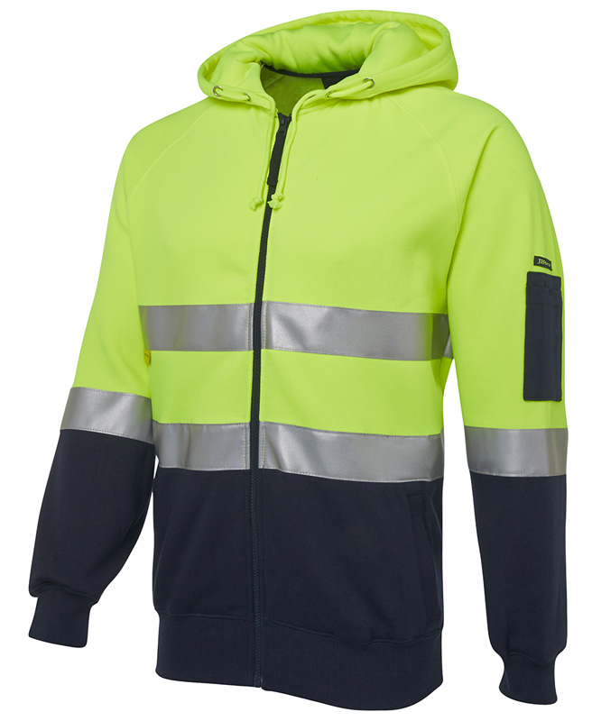 JB Hi Vis Day and Night Fleecy Hoodie