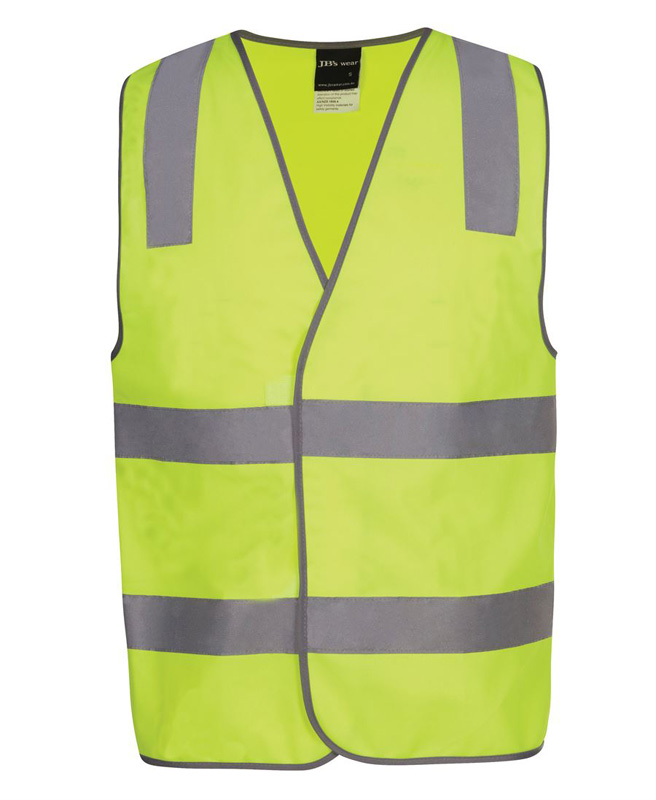 JB Hi Vis D+N Safety Vest Security/Staff/Visitor
