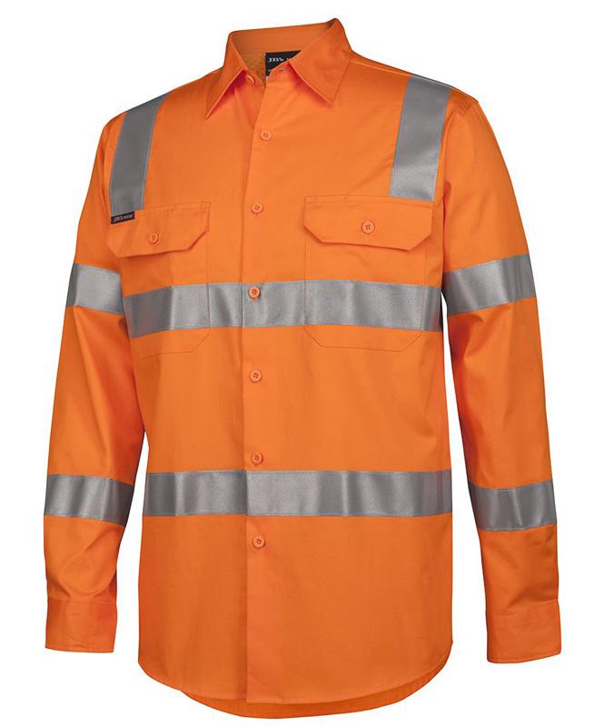 JB VIC Rail Work Shirt L/S