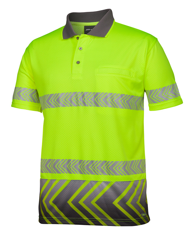 JB Arrow Sub Polo with Segmented Tape