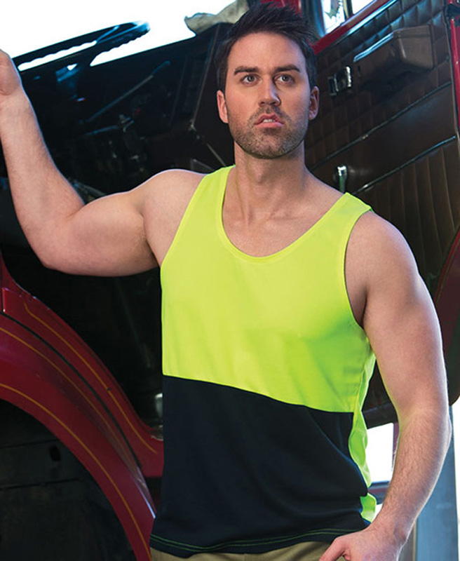 JB Hi Vis Traditional Singlet