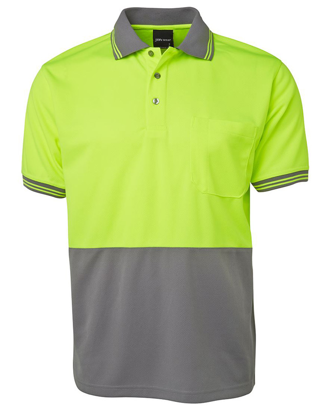 JB Hi Vis S/S Traditional Polo