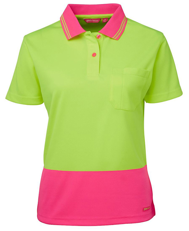 JB Ladies Hi Vis Polo