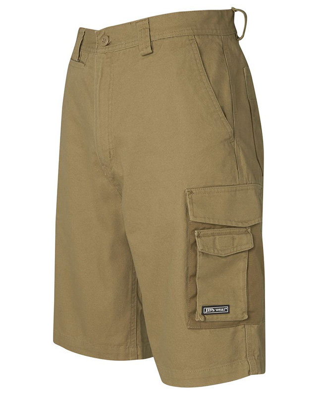 JB Canvas Cargo Shorts