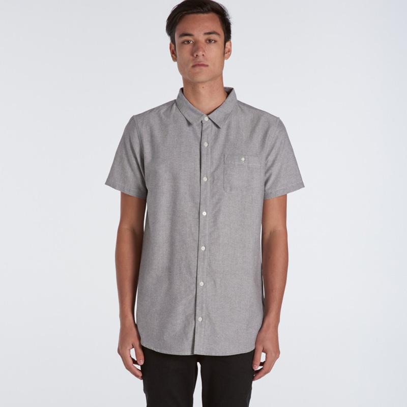 AS Colour Oxford Short Sleeve Shirt