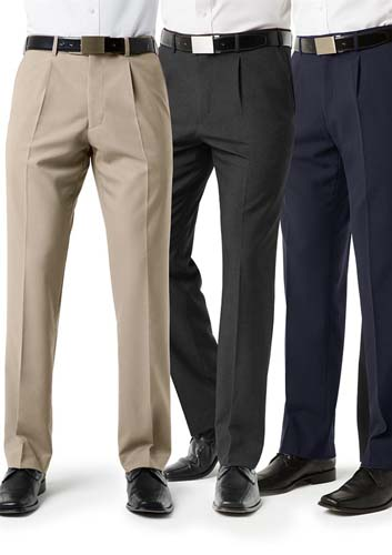 Mens Pleat Front Pant