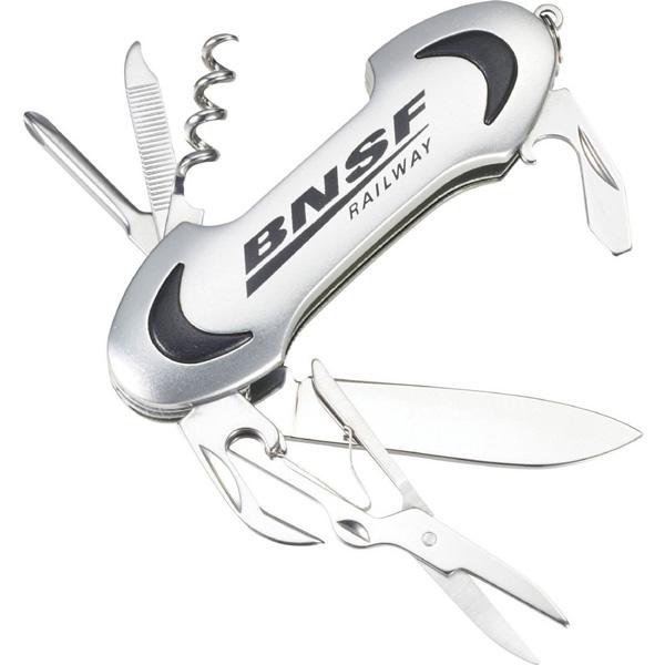 Oblong 9-Function Pocket Knife