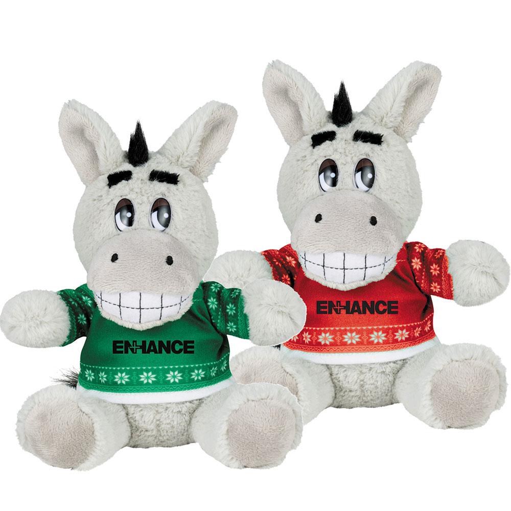 Ugly Christmas Sweater 6'' Donkey