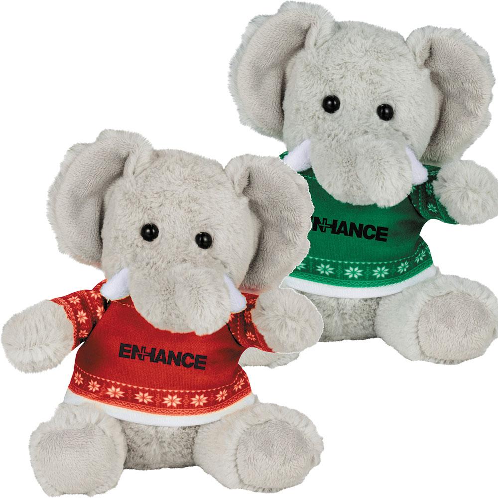 Ugly Christmas Sweater 6'' Elephant