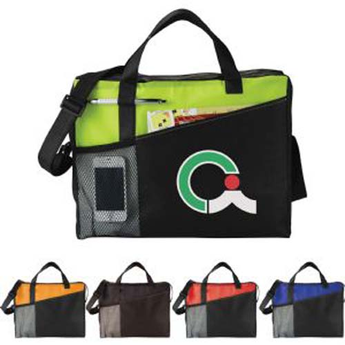 Full Time Printed Business Brief Bag