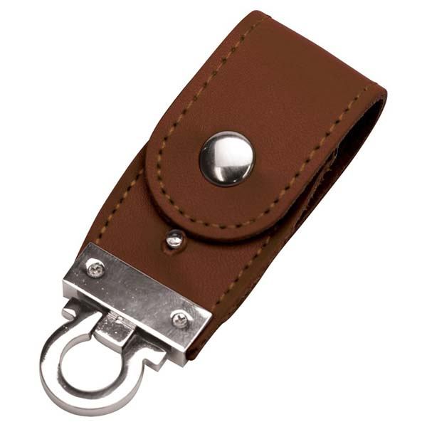 PU Leather Flip Drive 8GB
