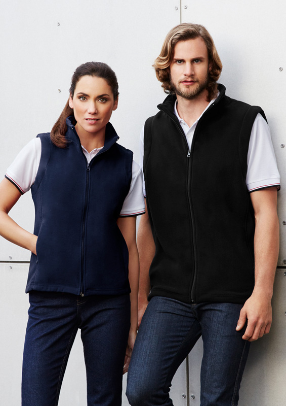 Plain Micro Fleece Vest