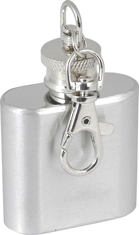 1oz Hip Flask Keyring