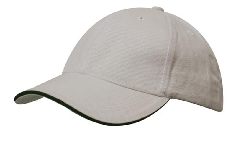Brushed Heavy Cotton Trim Cap