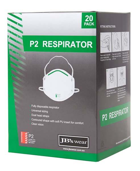 P2 Respirator 20pc