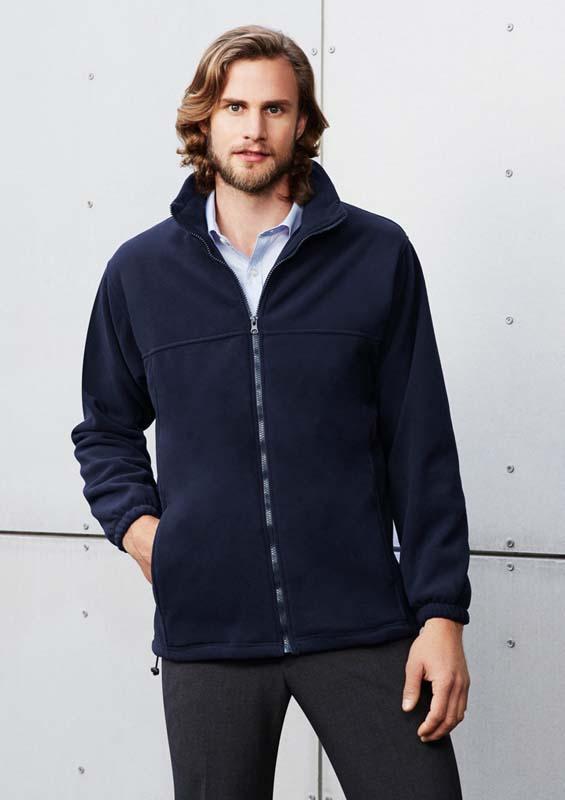 Full Zip Polar Fleece Top