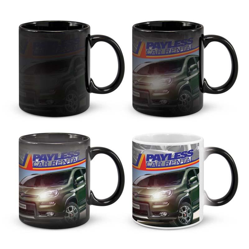 Chameleon Coffee Mug (Disappearing Logo)