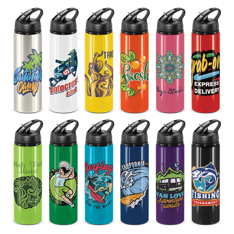 Flip Cap Oasis Aluminium Drink Bottle