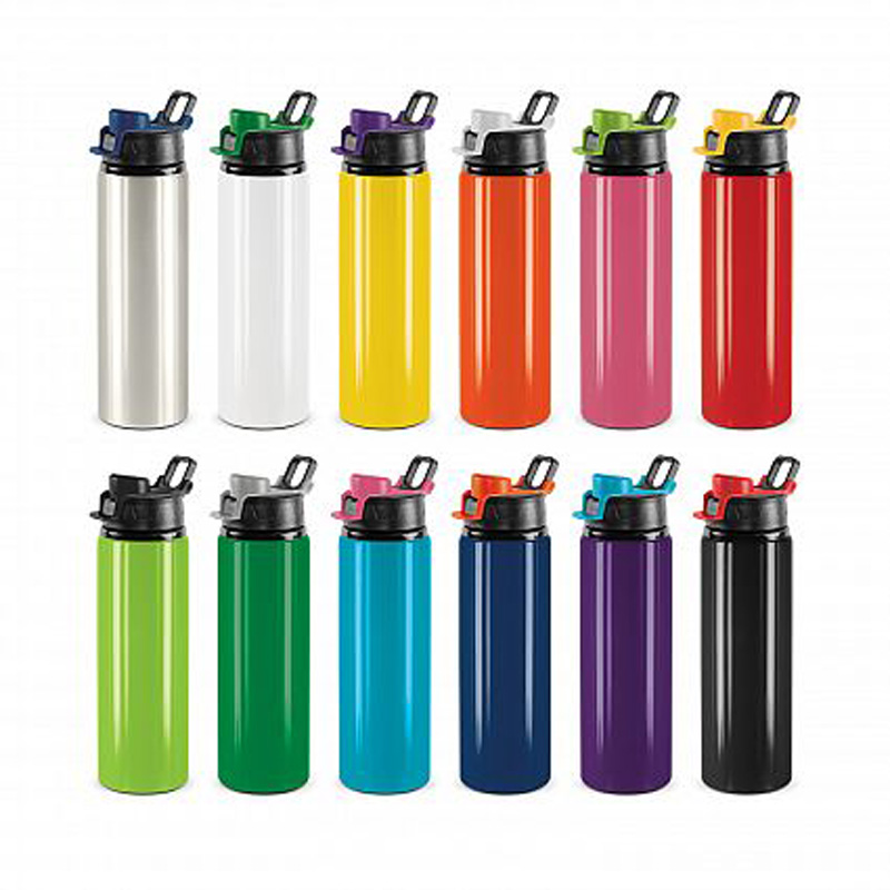 Mix and Match Snap Cap Oasis Aluminium Bottle