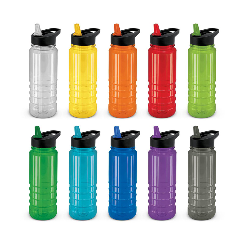 Black Lid Triton Drink Bottle 750ml