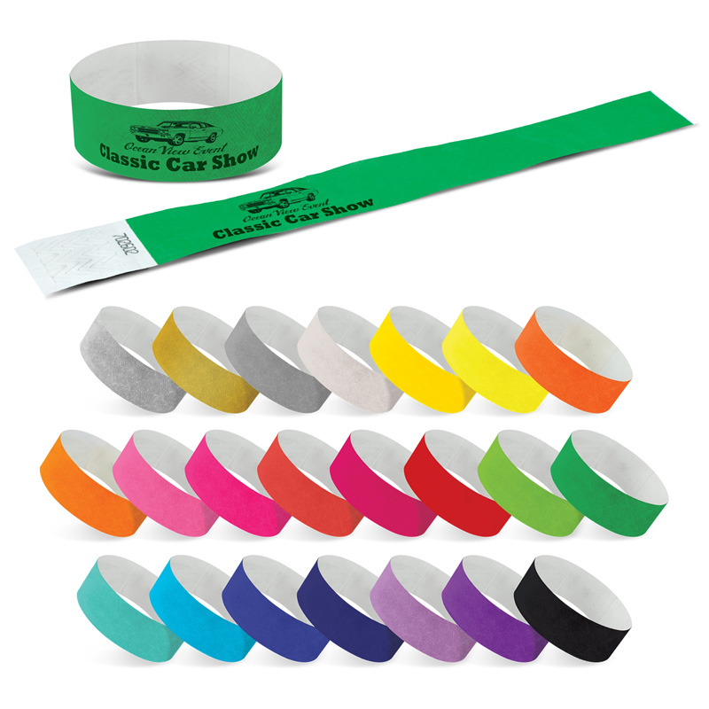 Tyvek Event Wrist Band