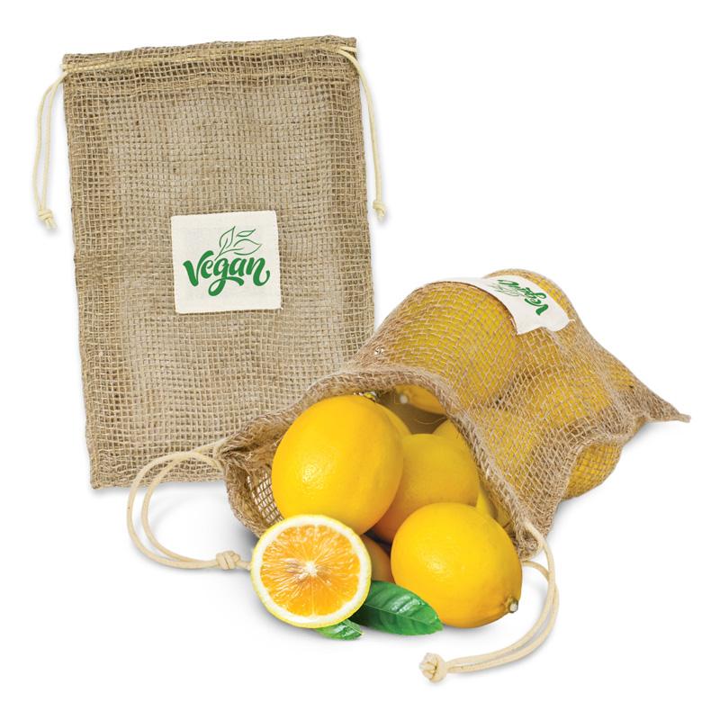 Jute Net Produce Bag