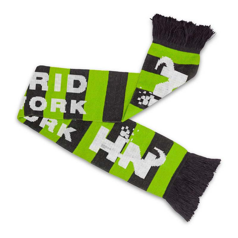 Custom Knitted Scarf Fairbanks