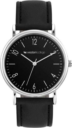 Unisex PU Leatherette Strap Watch