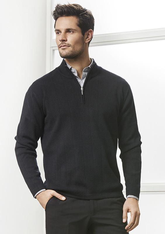 Mens 80/20 Half Zip Pullover