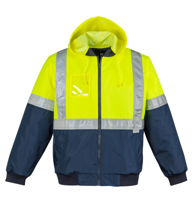 Syzmik Hi Vis Quilted Flying Jacket