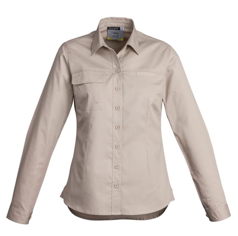 Syzmik Ladies Lightweight Long Sleeve Tradie Shirt